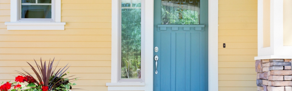 A new front door and paint has one of the highest ROIs at sale of your home.